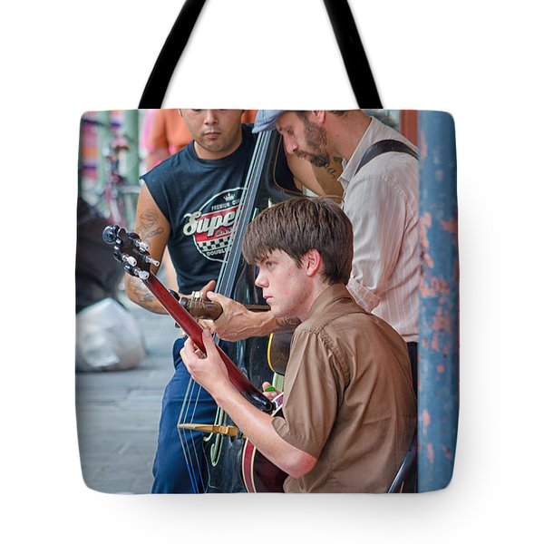 New Orleans Street Trio Tote Bag