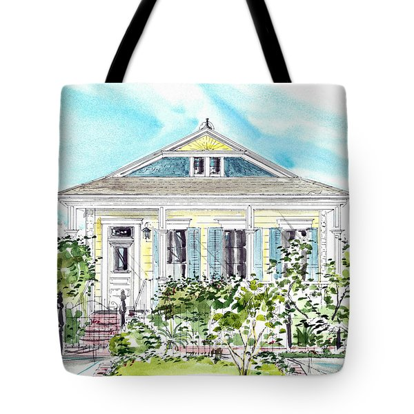 New Orleans Victorian Tote Bag