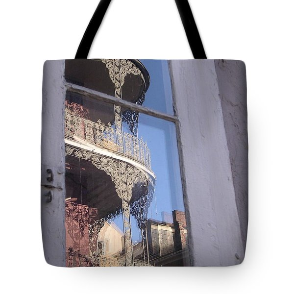 New Orleans Window Tote Bag