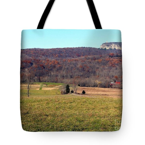 New Paltz Beauty Tote Bag by Ed Weidman