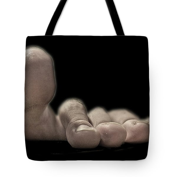 New Photographic Art Print For Sale   Best Foot Forward Tote Bag