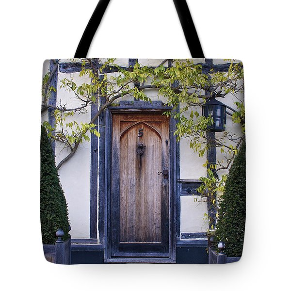 New Photographic Art Print For Sale Doorway 2 In Medieval Lavenham Tote Bag