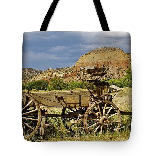 New Photographic Art Print For Sale Ghost Ranch New Mexico 13 Tote Bag