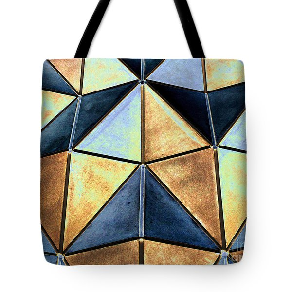 Pop Art Abstract Art Geometric Shapes Tote Bag