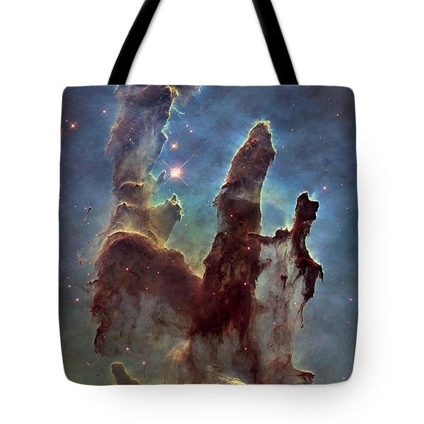 New Pillars Of Creation Hd Tall Tote Bag