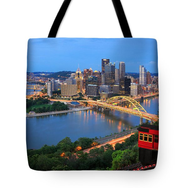 Pittsburgh Summer  Tote Bag by Emmanuel Panagiotakis