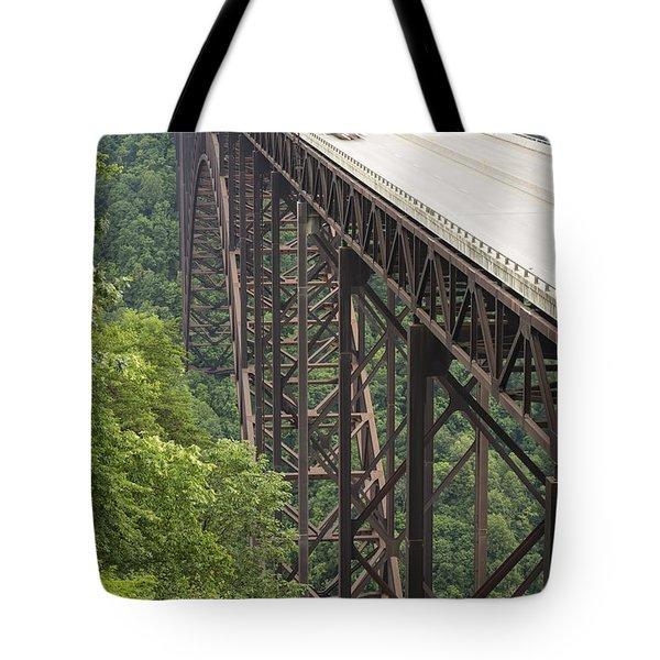 New River Bridge 16 Tote Bag