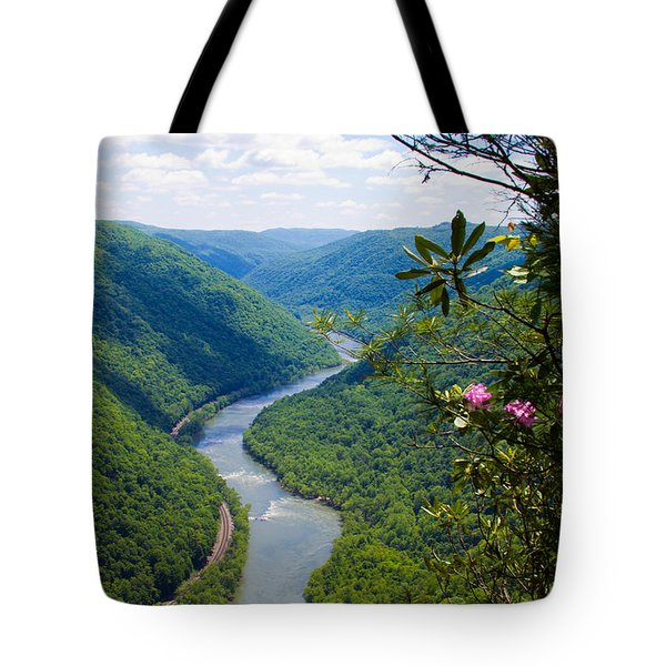 New River View Tote Bag