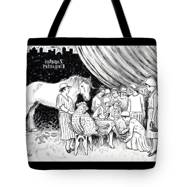 New Shoe Store Study Tote Bag