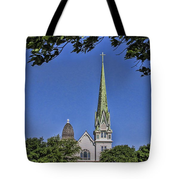 New Sweden Evangelical Lutheran Church Tote Bag