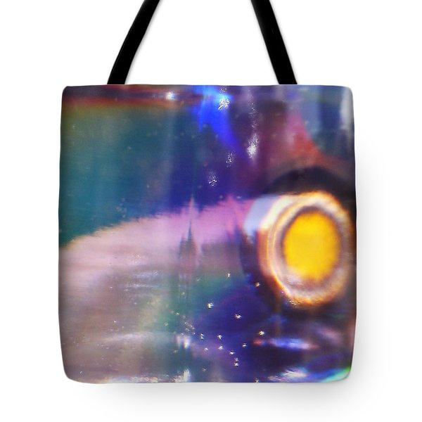 Tote Bag featuring the photograph New World by Martin Howard