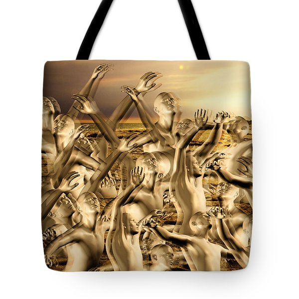 New World Surrender Tote Bag by Betsy Knapp