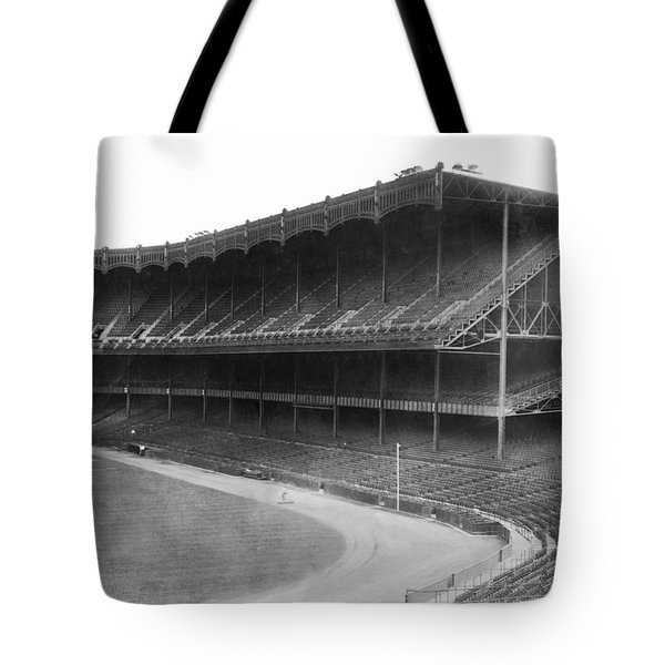 New Yankee Stadium Tote Bag by Underwood Archives