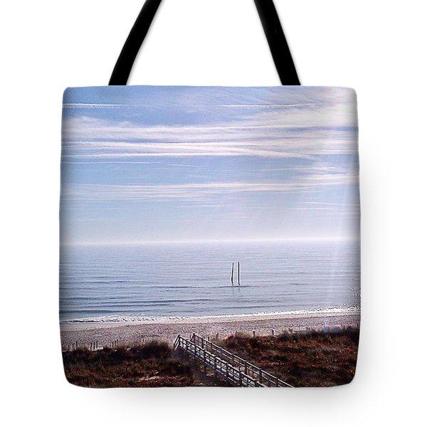New Year Carolina Beach Tote Bag