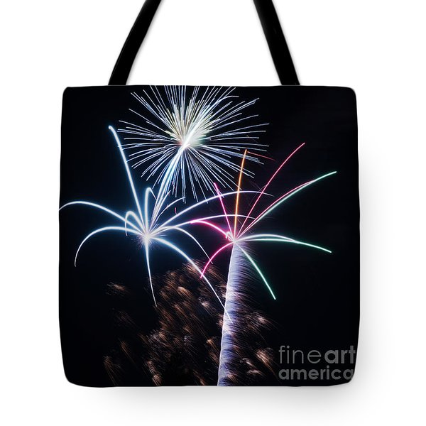 Tote Bag featuring the photograph New Year Greetings by Rima Biswas
