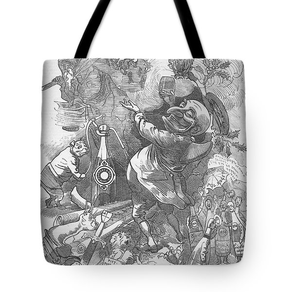 New Years Eve 1884 Tote Bag