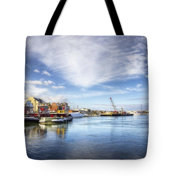 New Years In Portsmouth Nh Tote Bag