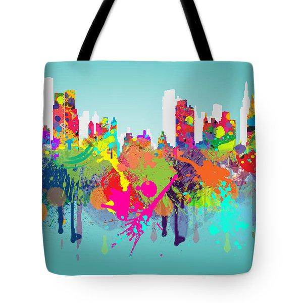 New York 7 Tote Bag