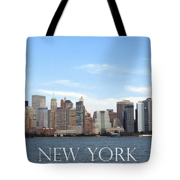 Tote Bag featuring the photograph New York As I Saw It In 2008 by Ausra Huntington nee Paulauskaite