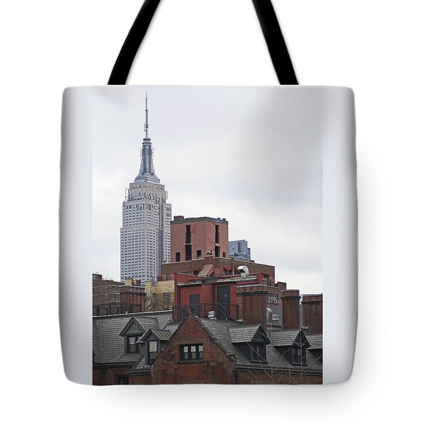 New York Buttes Tote Bag