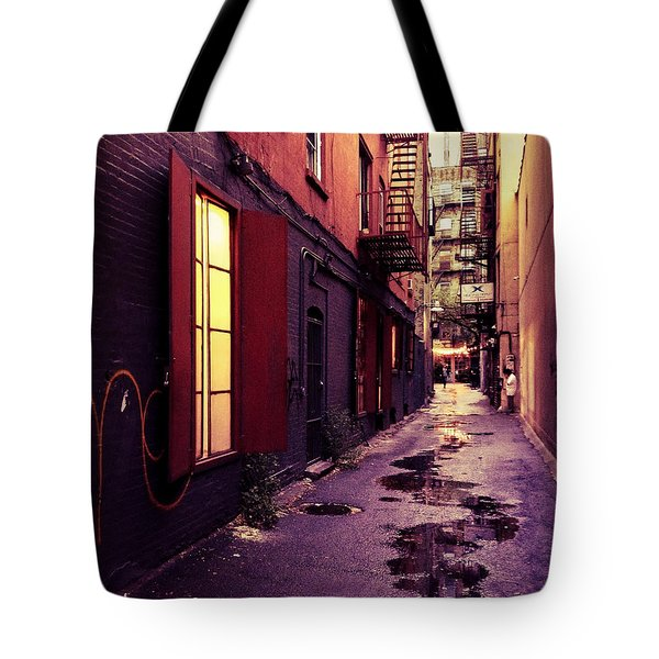 New York City Alley Tote Bag by Vivienne Gucwa