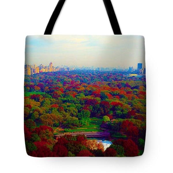 New York City Central Park South Tote Bag