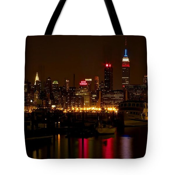 New York City Tote Bag by Dave Files
