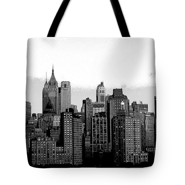 New York City Tote Bag by Kathleen Struckle