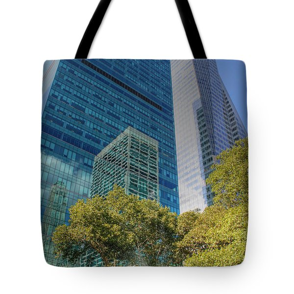 New York City Reflections Tote Bag by Bob Hislop