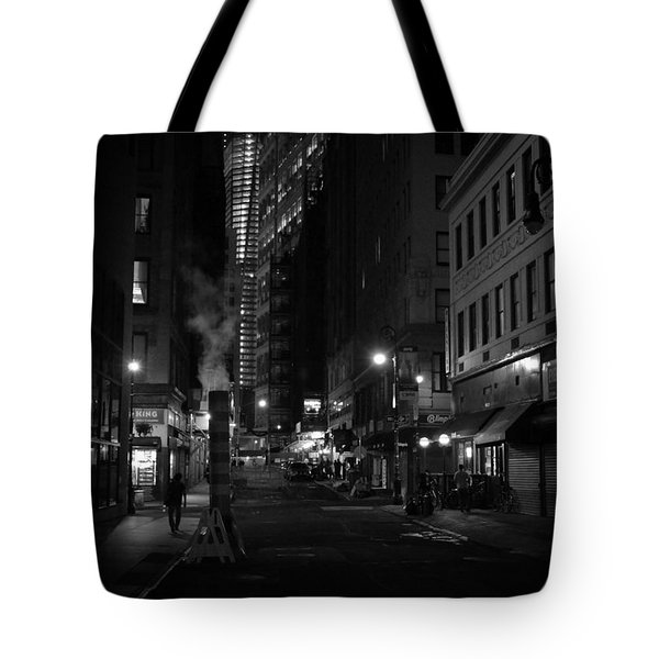New York City Street - Night Tote Bag by Vivienne Gucwa