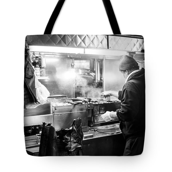 New York City Street Vendor Tote Bag