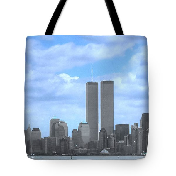 New York City Twin Towers Glory - 9/11 Tote Bag
