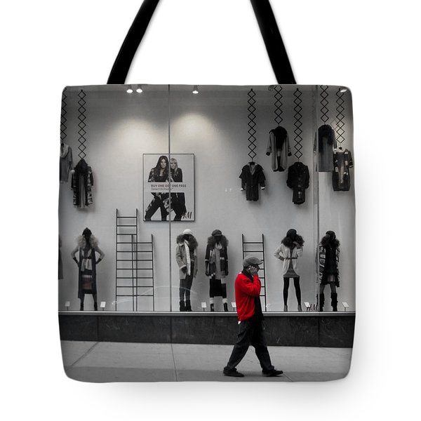 New York City Window Display Tote Bag