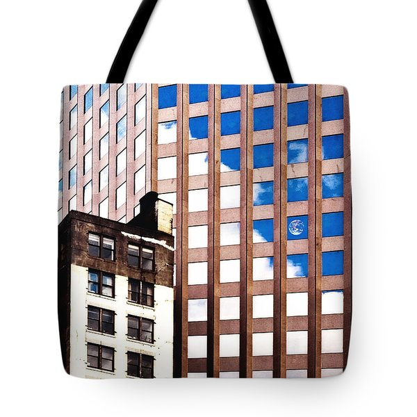 New York City Windows Tote Bag