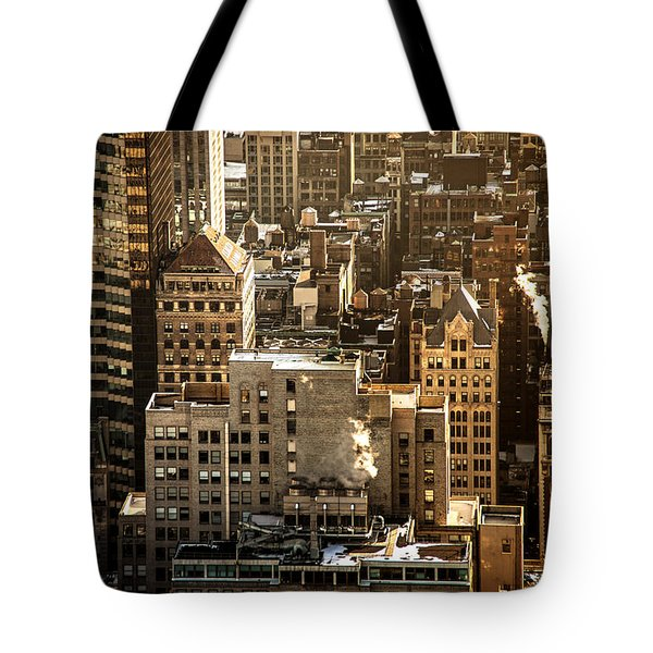New York Cityscape Tote Bag by Vivienne Gucwa