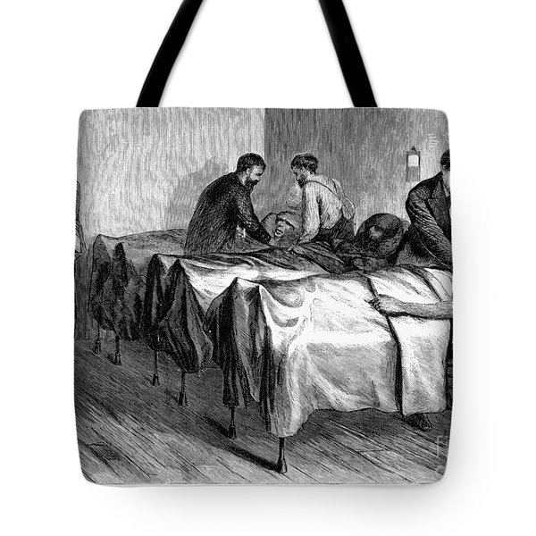 New York: Heatstroke, 1876 Tote Bag by Granger