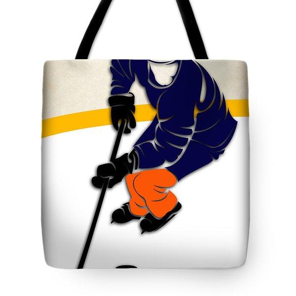New York Islanders Rink Tote Bag
