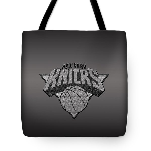 New York Knicks Tote Bag by Paulo Goncalves