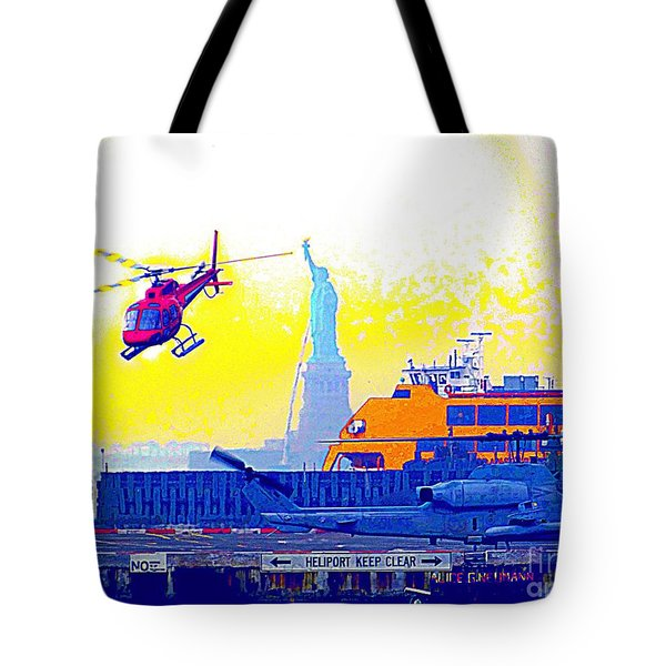 New York Life Tote Bag by Ed Weidman