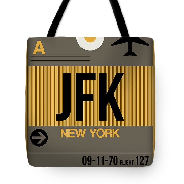 New York Luggage Tag Poster 3 Tote Bag