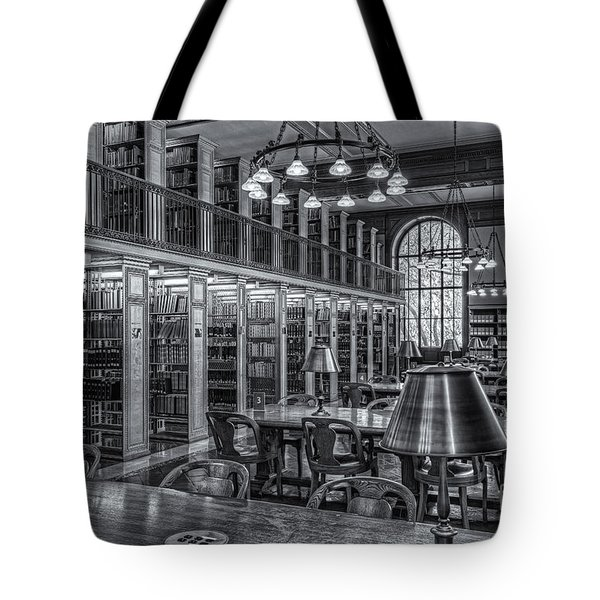 New York Public Library Genealogy Room II Tote Bag by Clarence Holmes