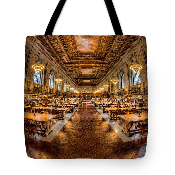 New York Public Library Main Reading Room Vii Tote Bag
