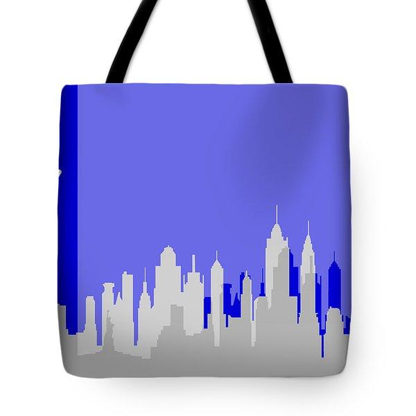 New York Shadows Tote Bag