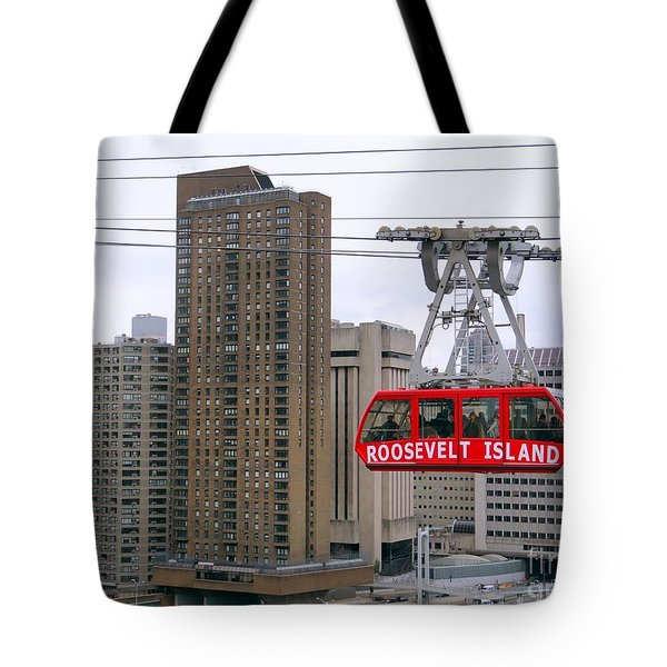 New York State Of Mind Tote Bag by Ed Weidman