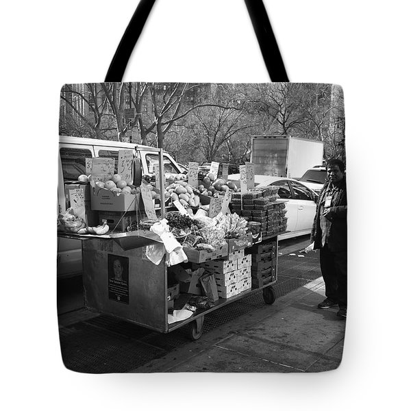 New York Street Photography 5 Tote Bag by Frank Romeo