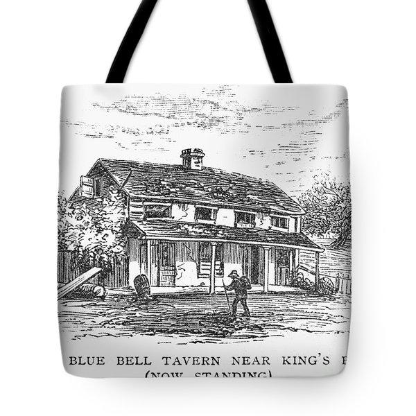 New York: Tavern, C1725 Tote Bag by Granger