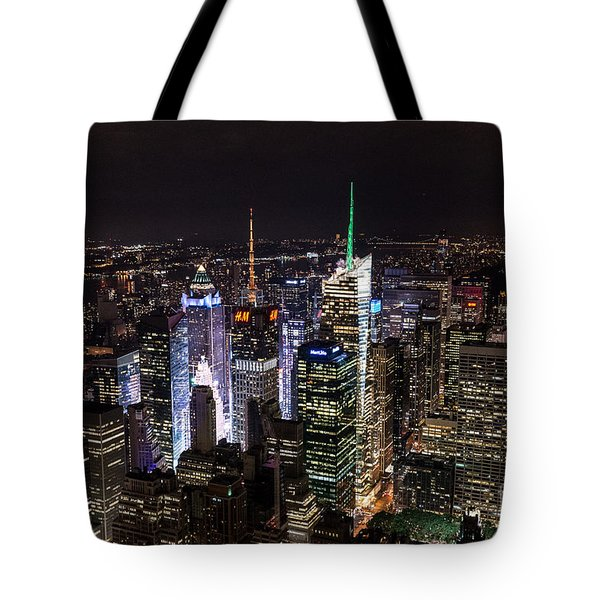 New York Times Square Tote Bag by Matt Malloy