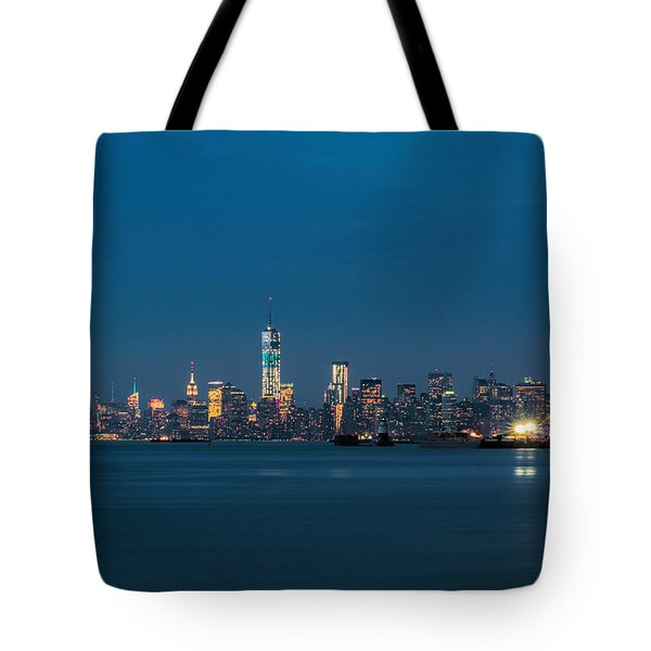 New York Twilight Tote Bag