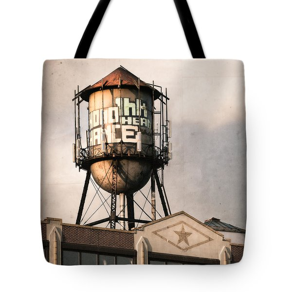 New York. Water Towers 6 Tote Bag