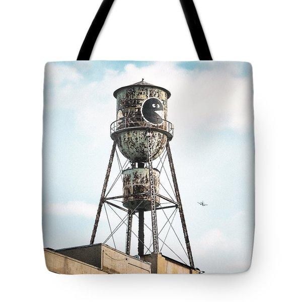 New York Water Towers 9 - Bed Stuy Brooklyn Tote Bag